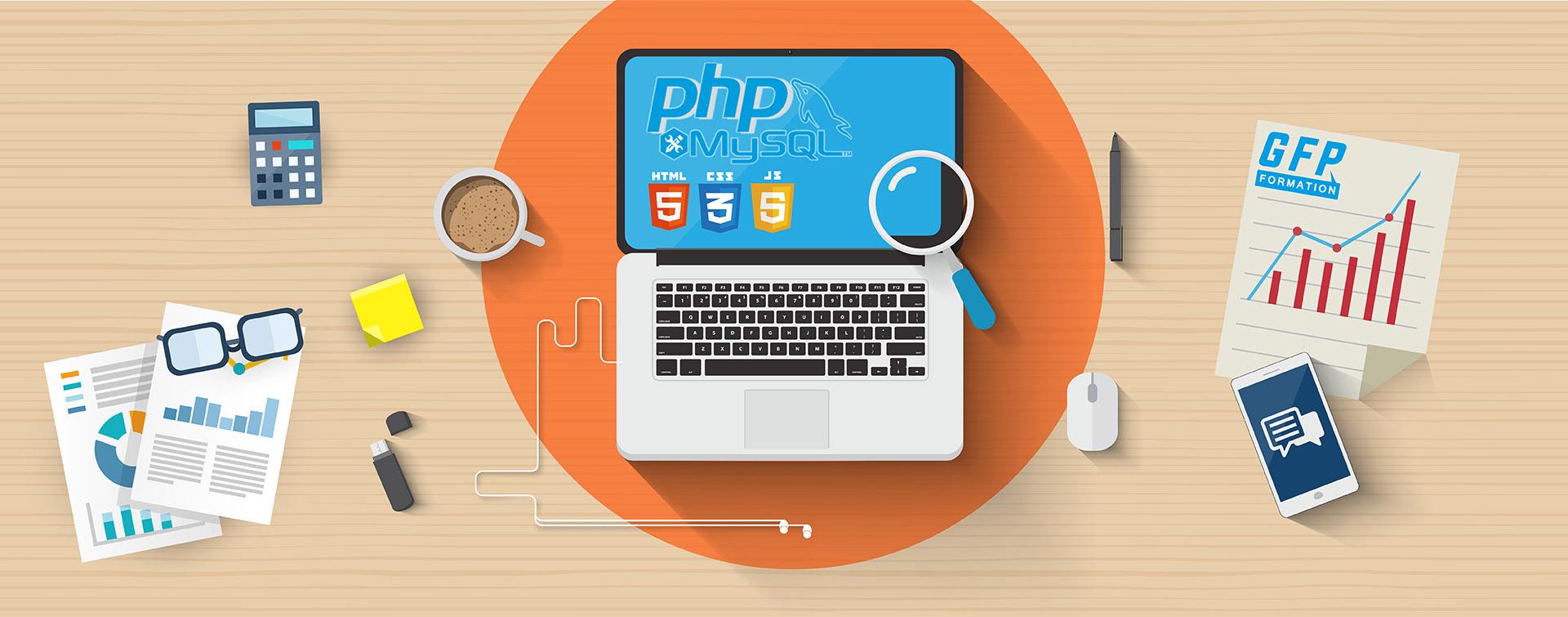 Formation conception site web dynamique PHP/MySQL